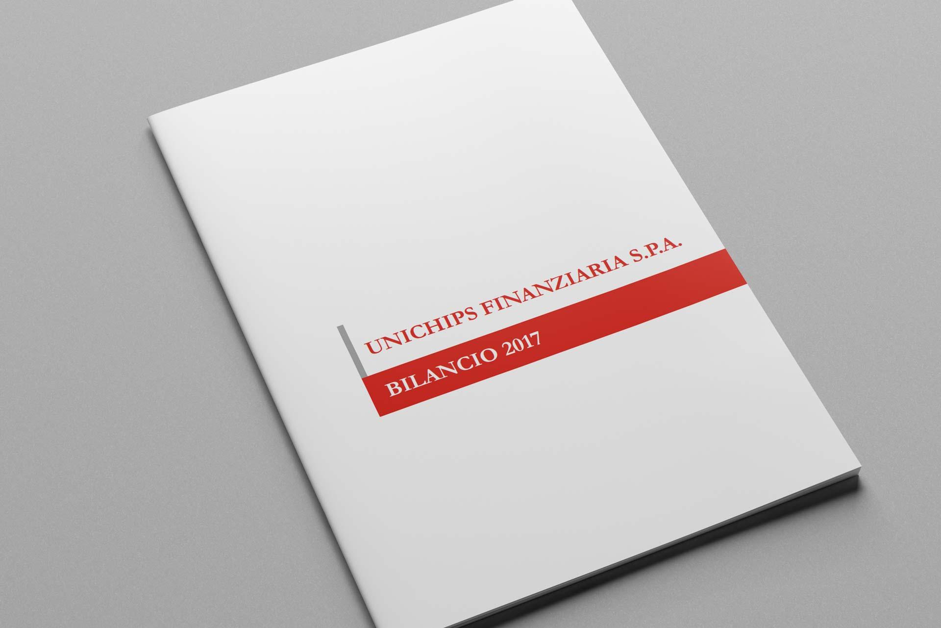 e-mage: impaginazione bilancio Unichips