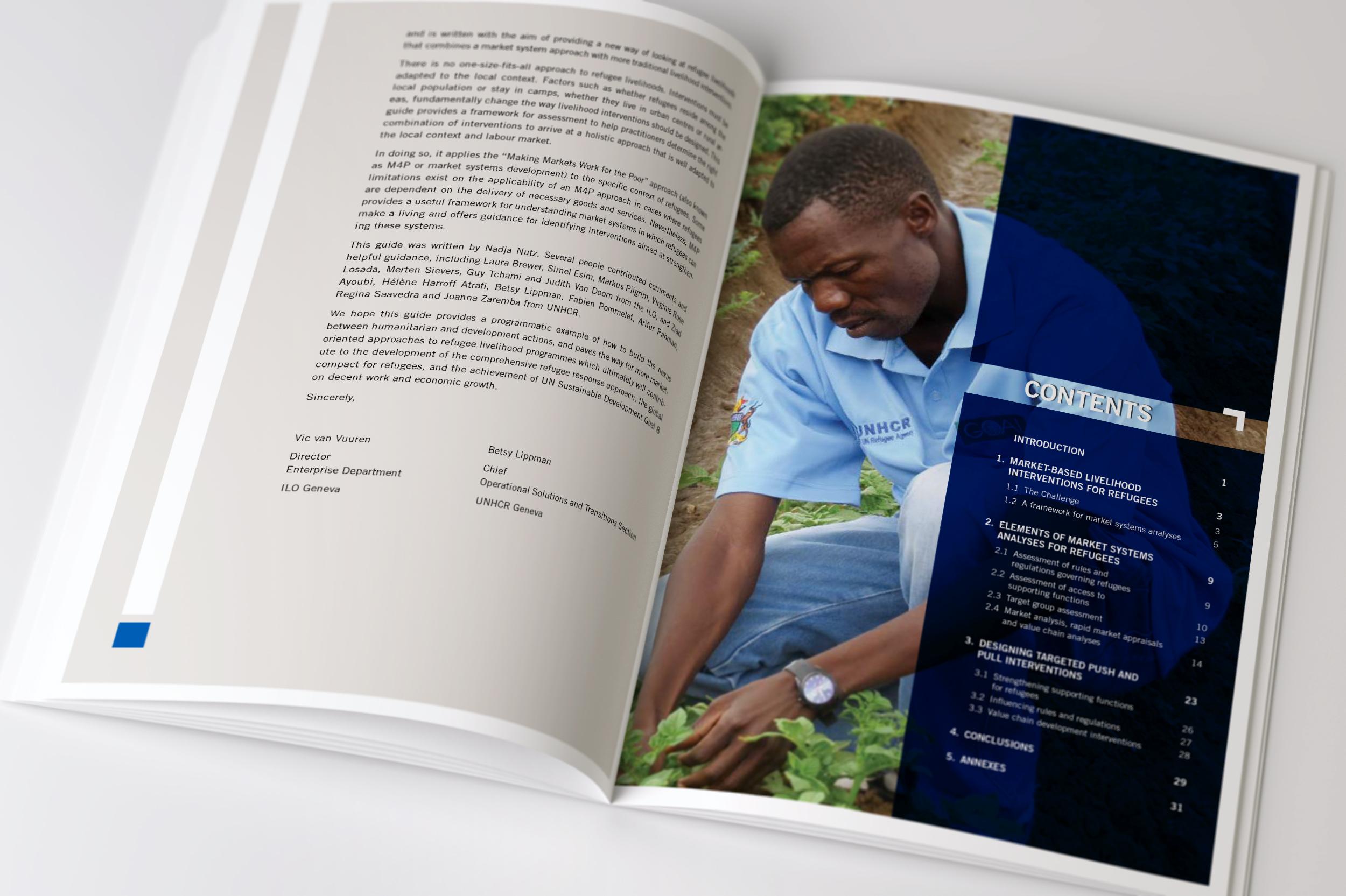 e-mage: Refugees report ILO