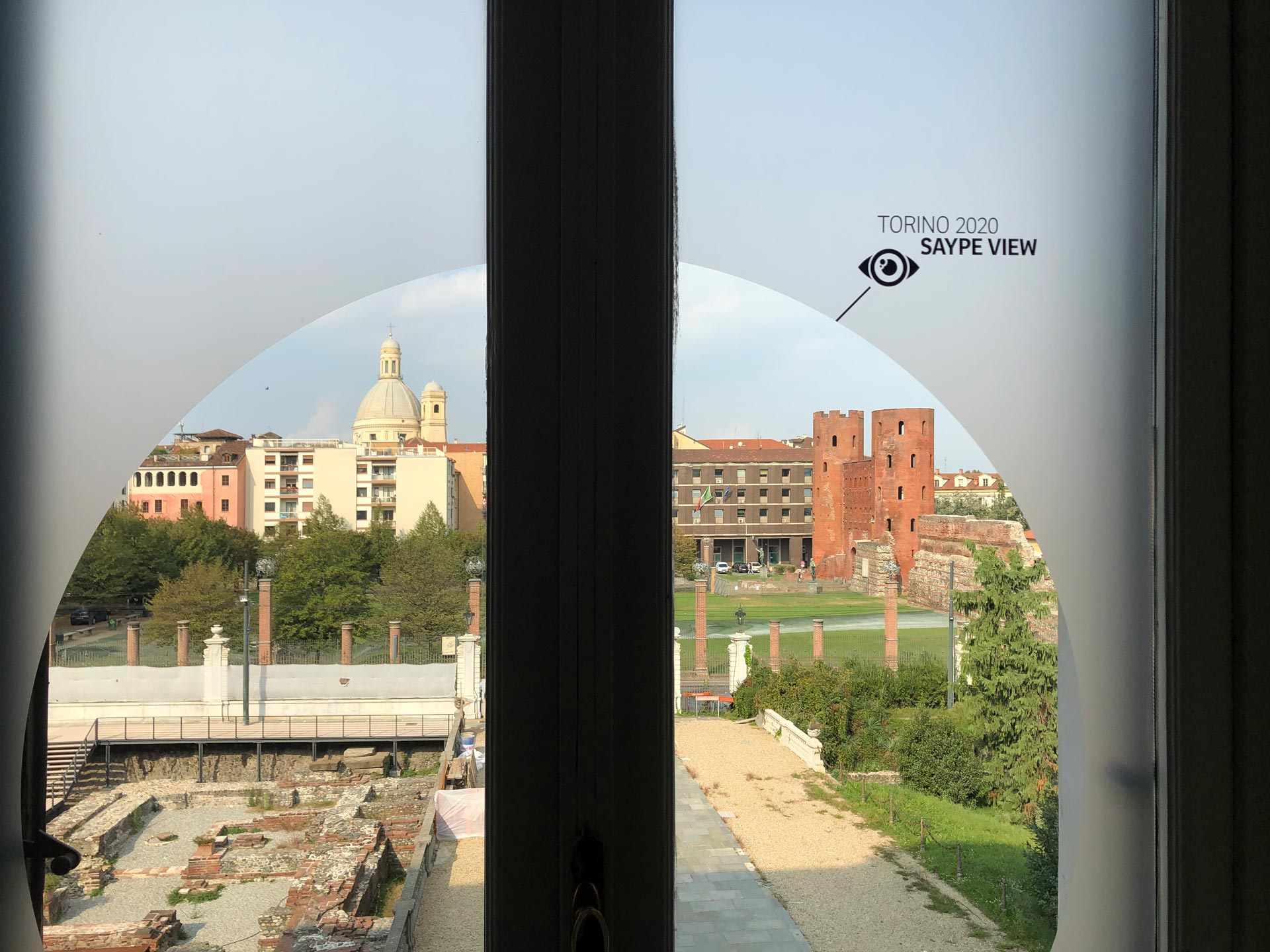 e-mage: Saype - Mostra Musei Reali Torino