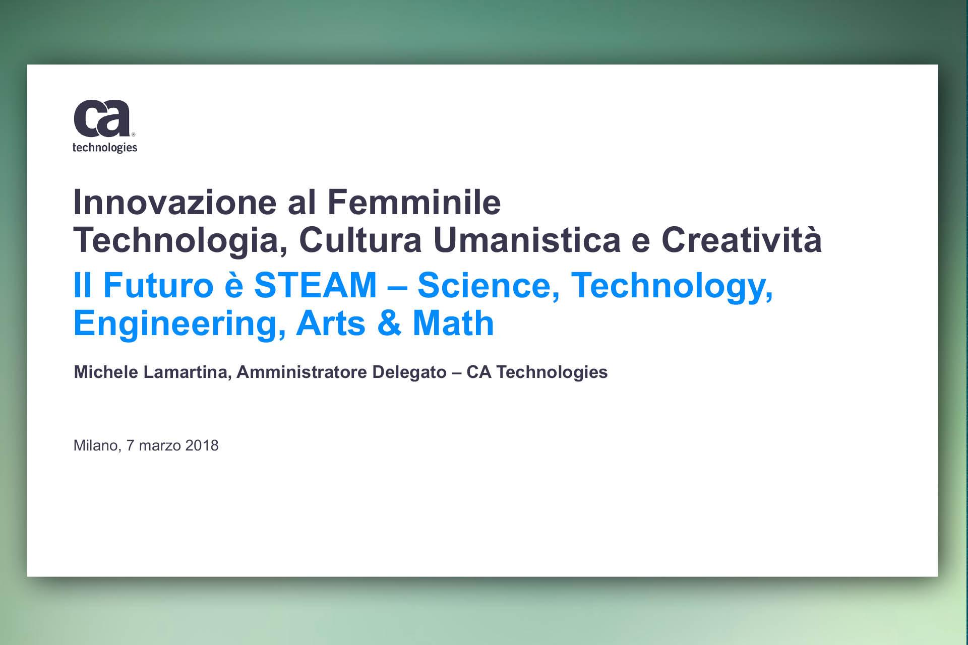 Presentazione PowerPoint Computer Associate Technologies
